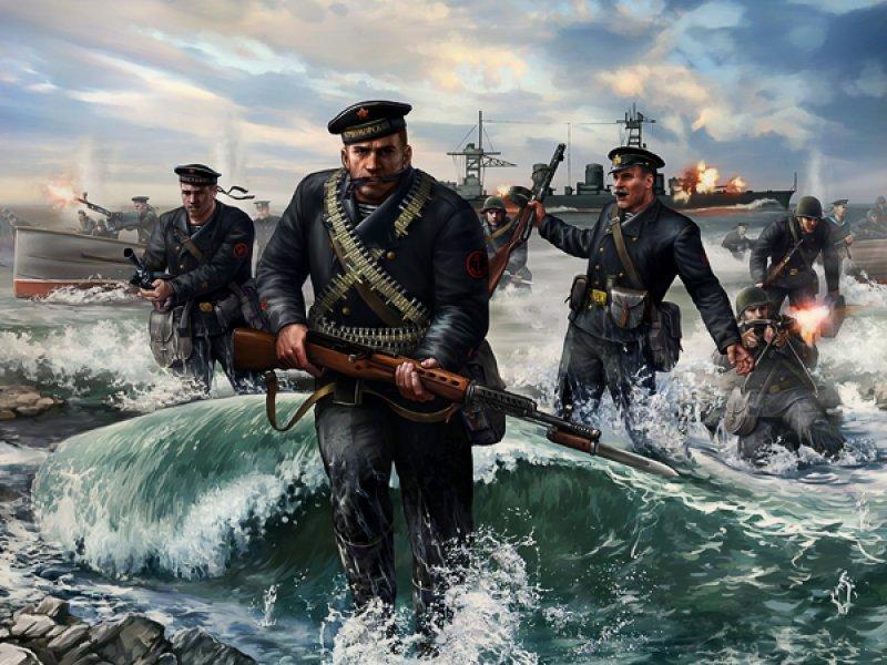 «ПОЛУНДРА!» - боевой клич Русских моряков.
