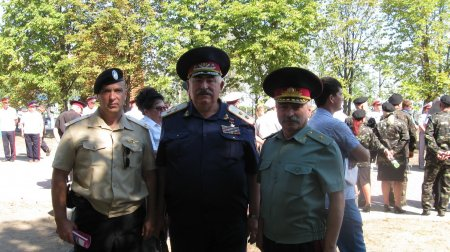 ПАМЯТИ ЛЕГЕНДАРНОГО ВОИНА - ХАРАКТЕРНИКА